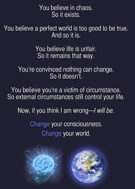 consciousness change